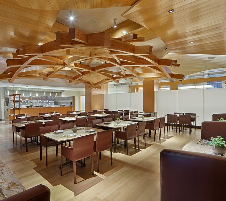 Interior view of Stir restaurant