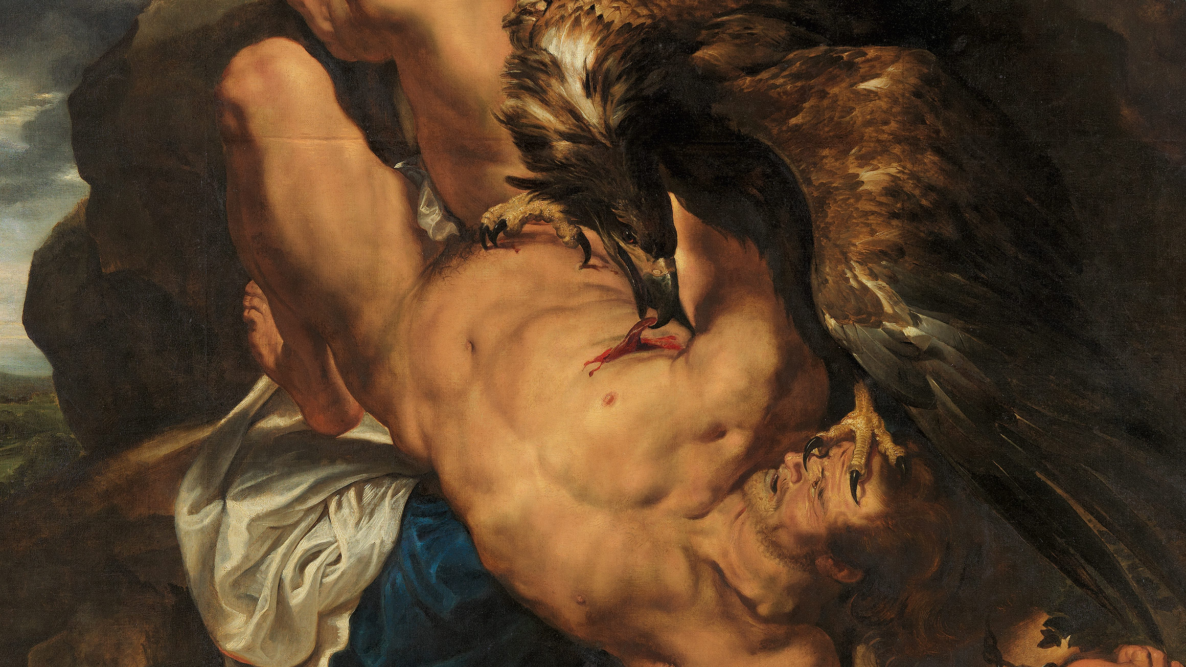Prometheus Bound (detail), begun c. 1611–18, by Peter Paul Rubens (Flemish, 1577–1640) and Frans Snyders (Flemish, 1579–1657), W1950-3-1