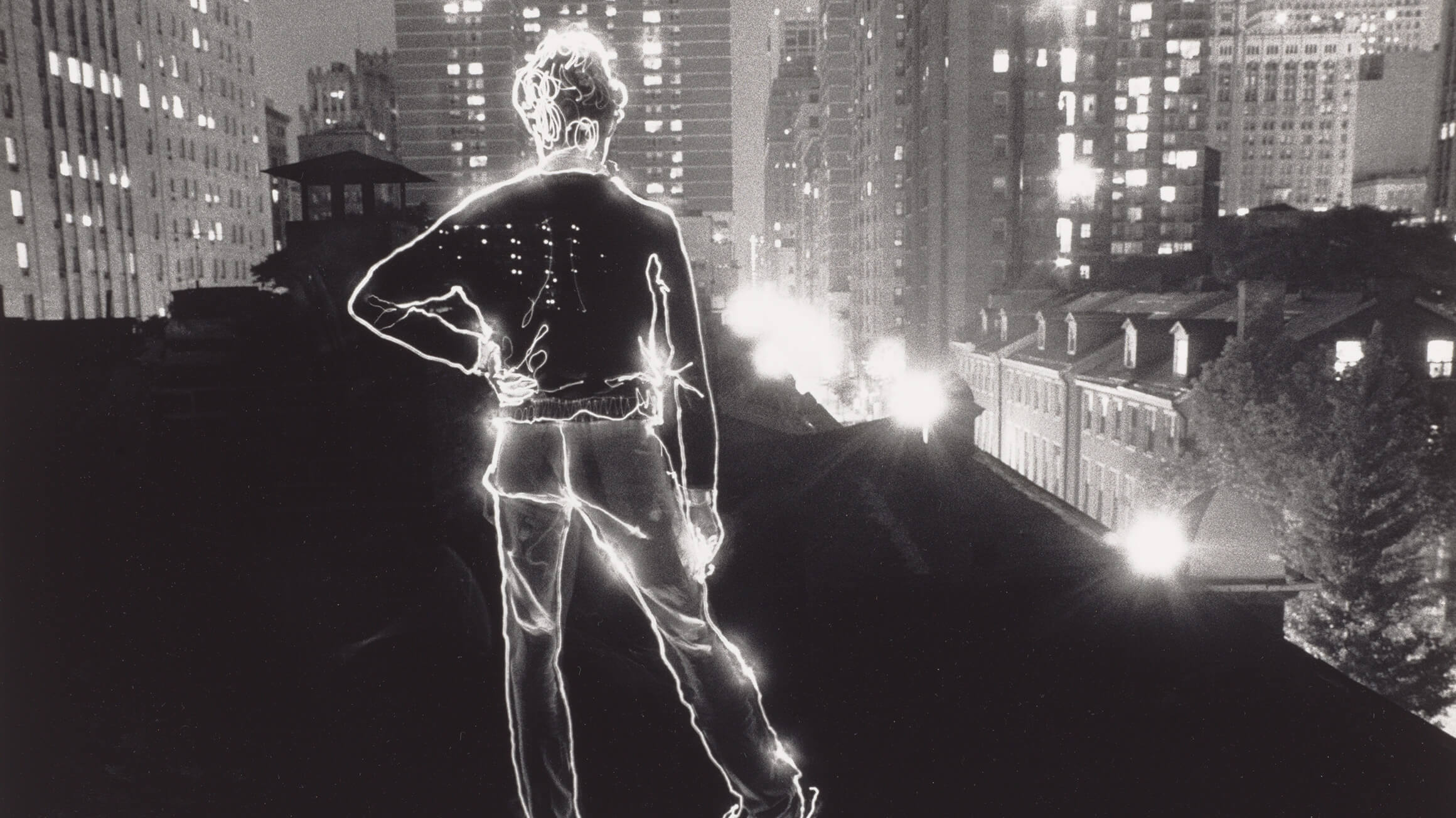 Angelo on the Roof (detail), 1979 (negative), 1995 (print), by David Lebe (American, born 1948), 2010-80-1. © David Lebe