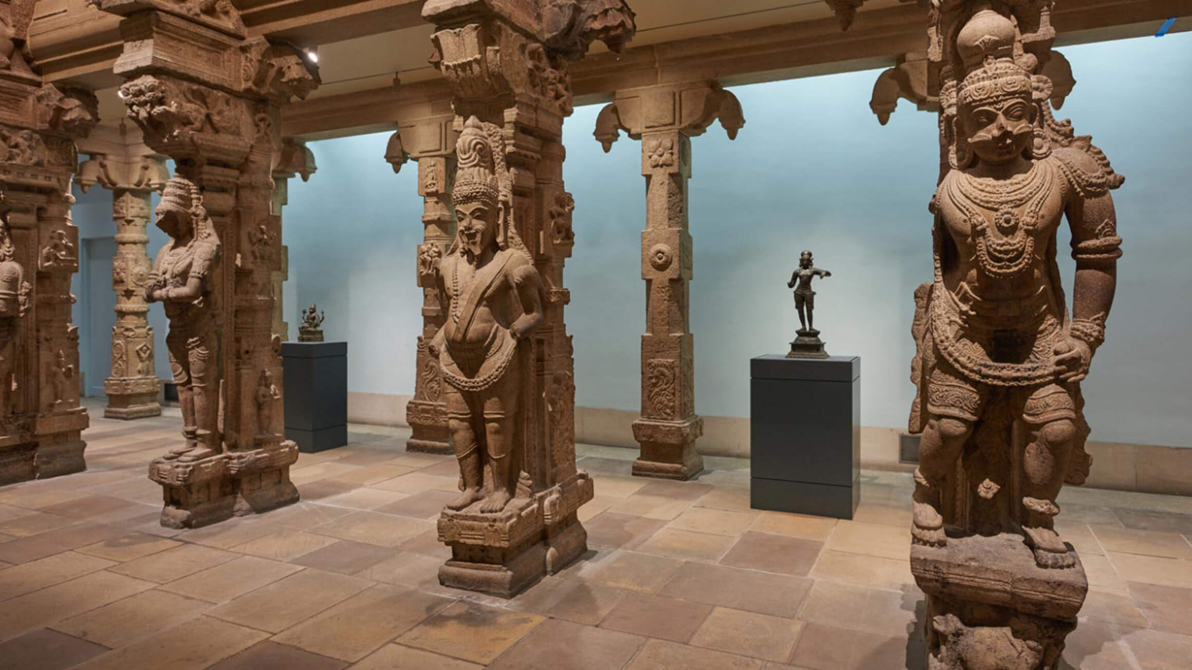 Pillared Temple Hall, 1560, made in India