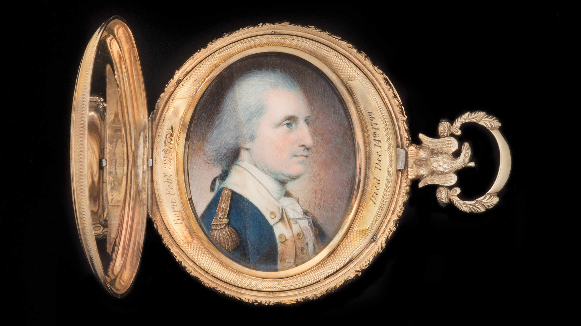 Portrait of George Washington, 1788, by James Peale (American, 1749–1831). On loan from The Dietrich American Foundation