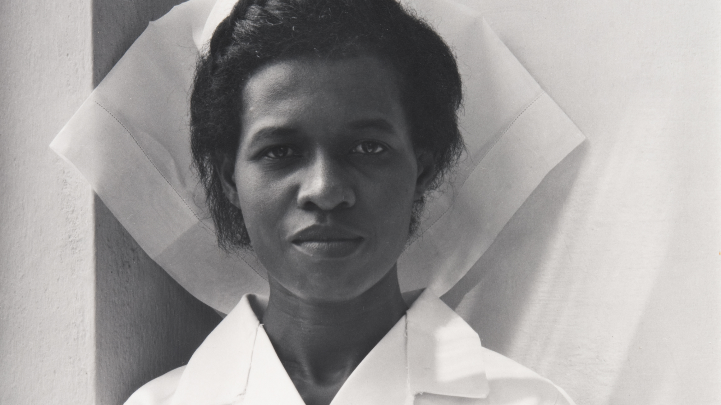 Cynthia Blavo, Korle-Bu Hospital, Accra, Ghana (detail), by Paul Strand (American, 1890–1976)