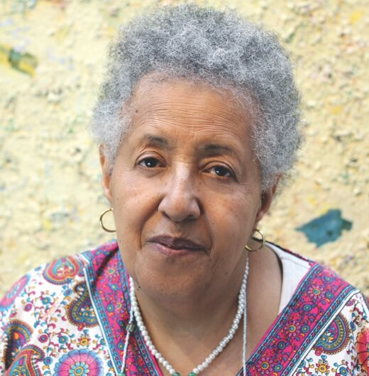 Portrait of artist Howardena Pindell