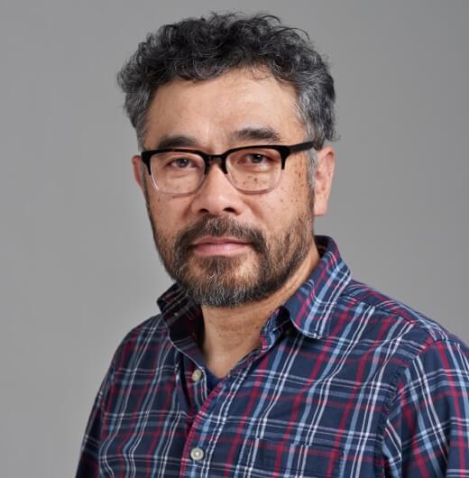 Portrait of artist Hiro Sakaguchi