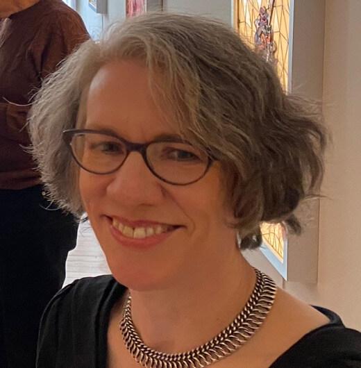 Portrait of artist Judith Schaechter