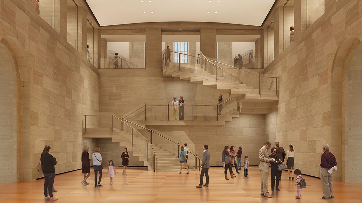 Architectural rendering of Williams Forum