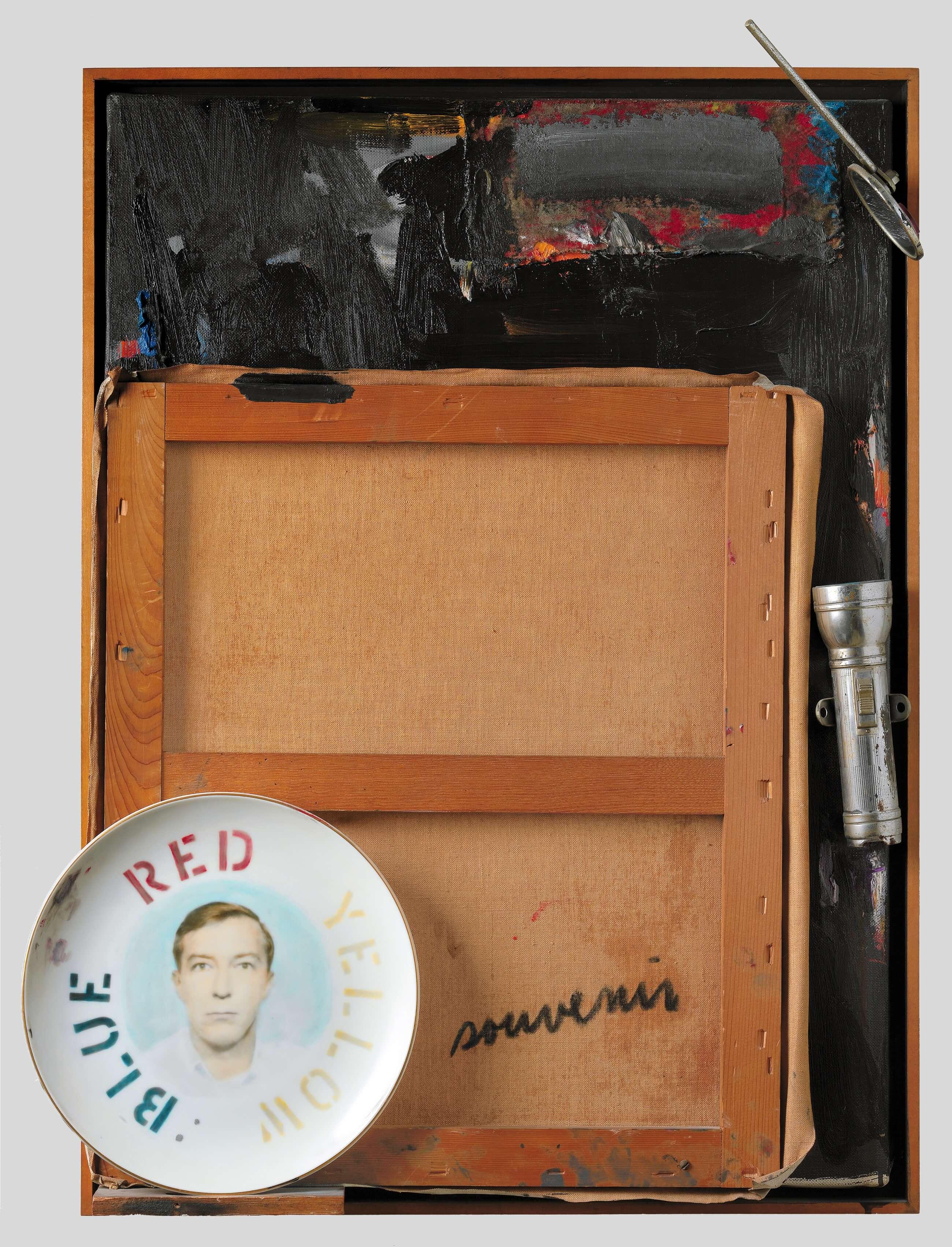 Souvenir 2, 1964, by Jasper Johns