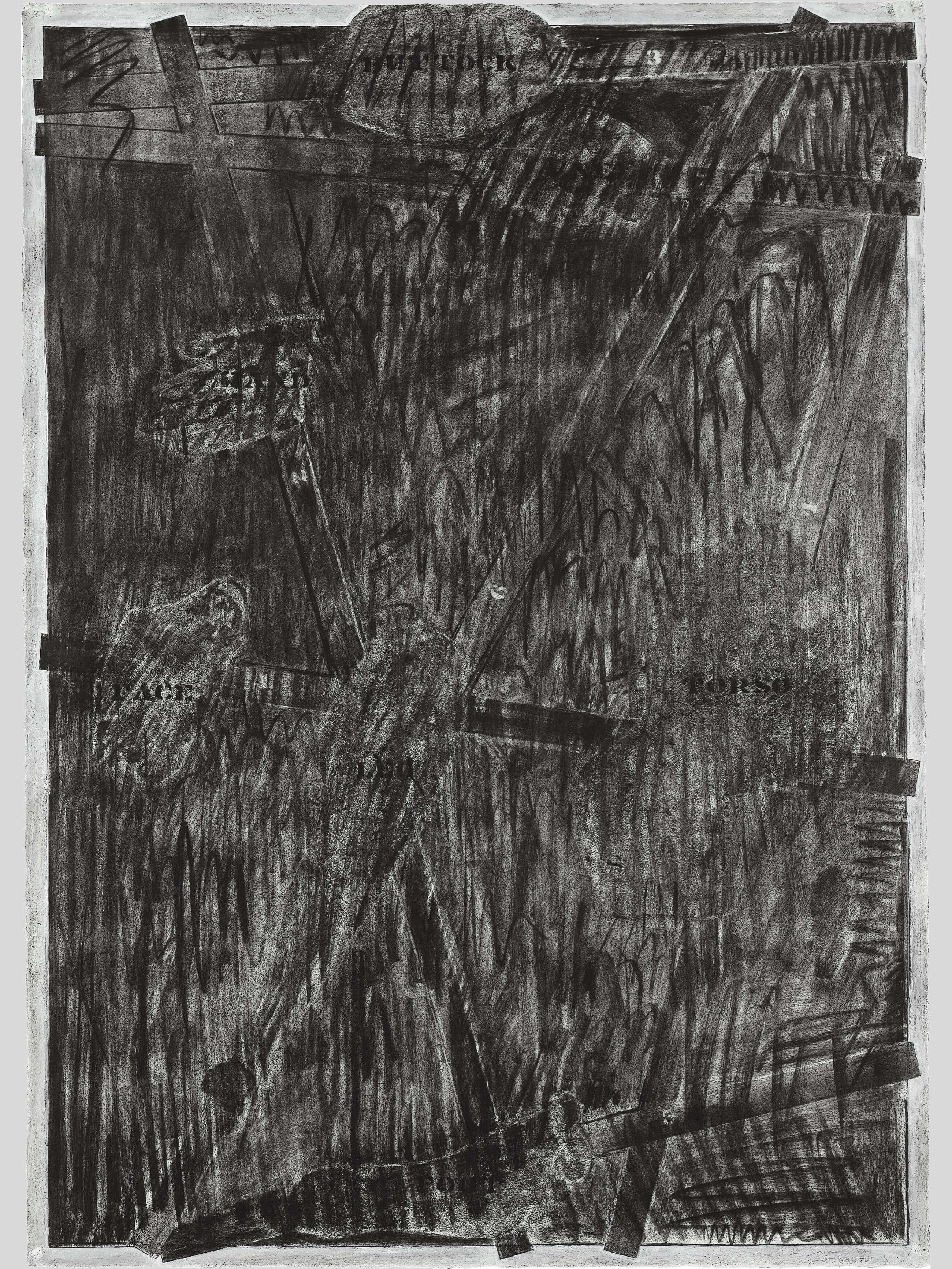 Untitled, 1973, by Jasper Johns