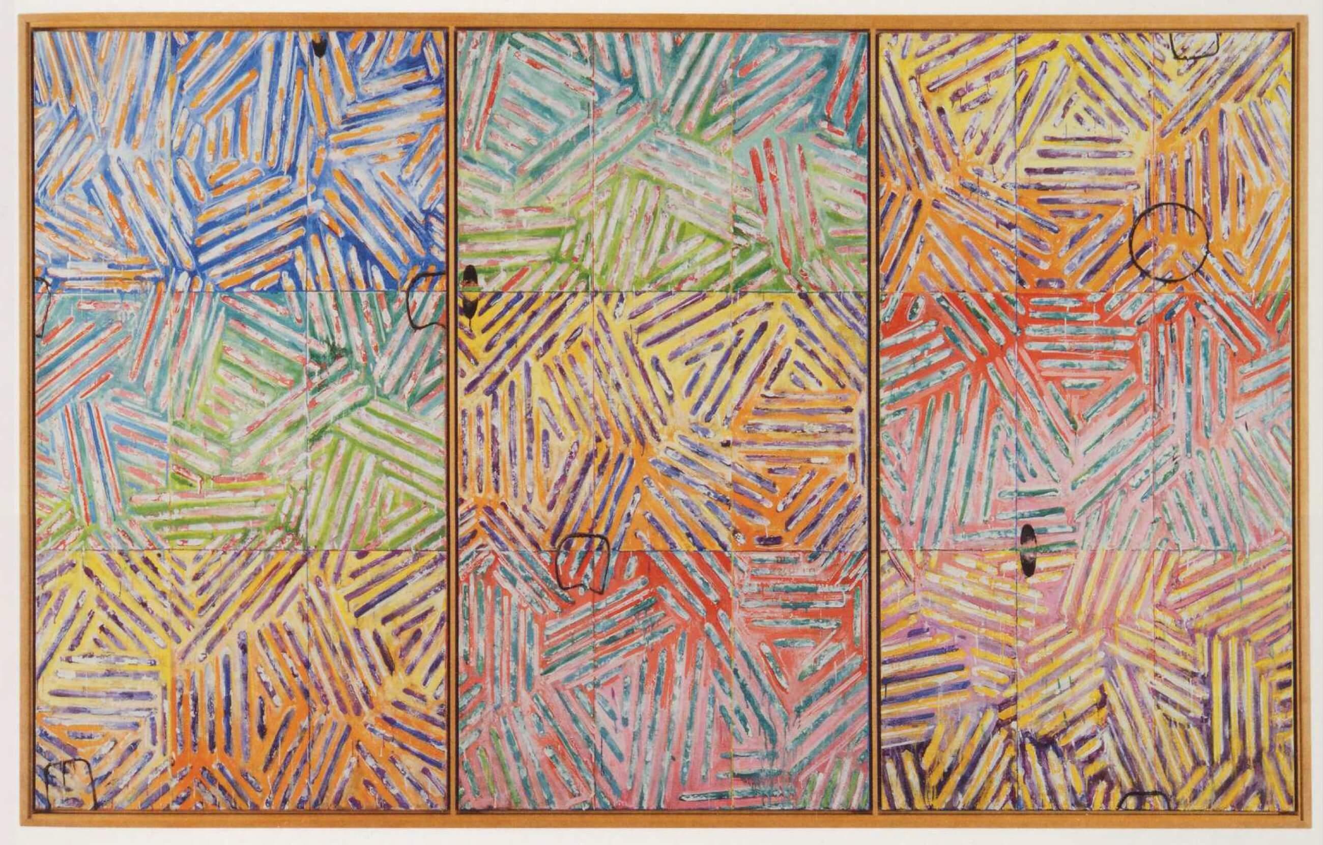 Usuyuki, 1982, by Jasper Johns