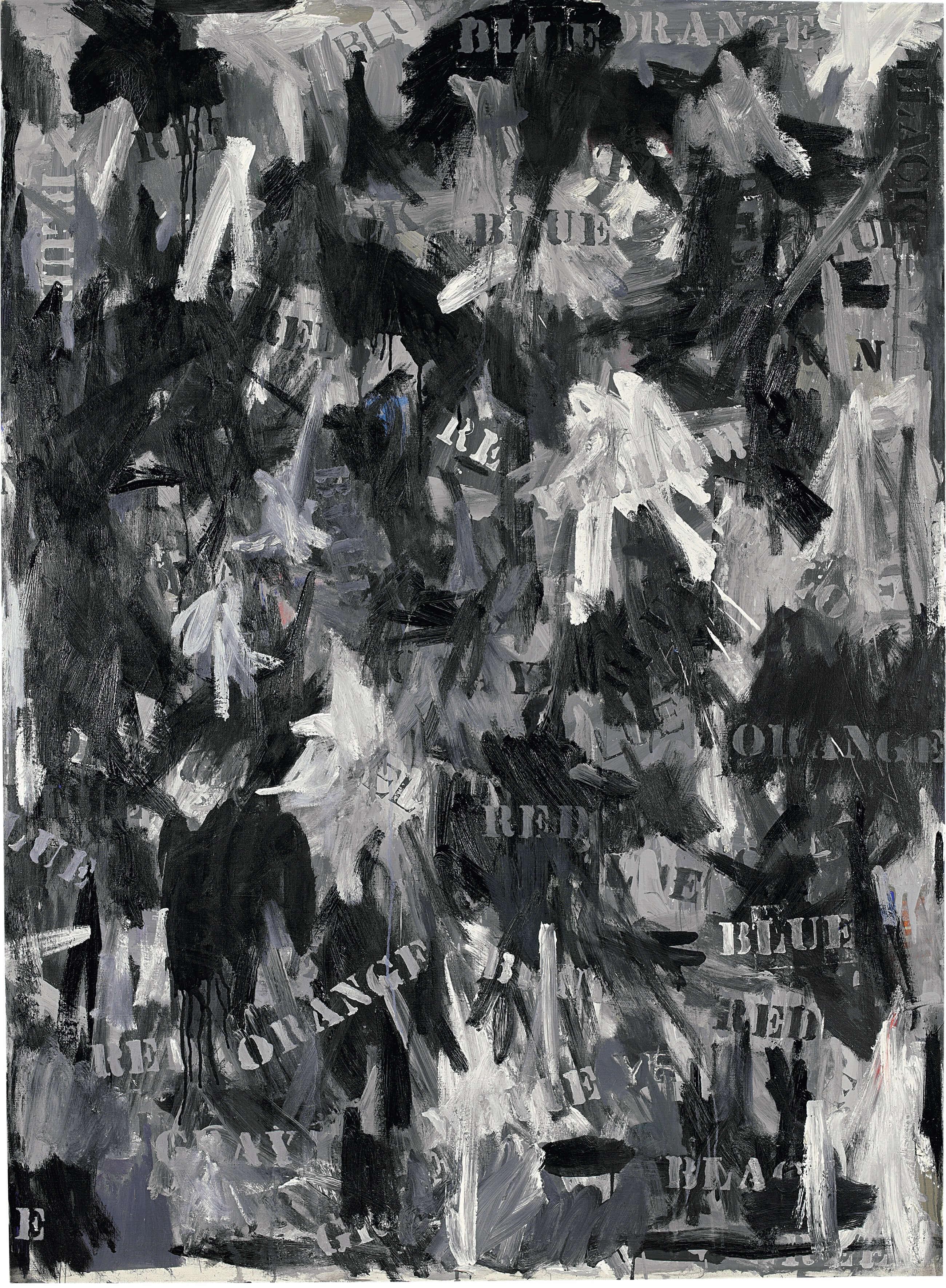 Jubilee, by Jasper Johns, 1959