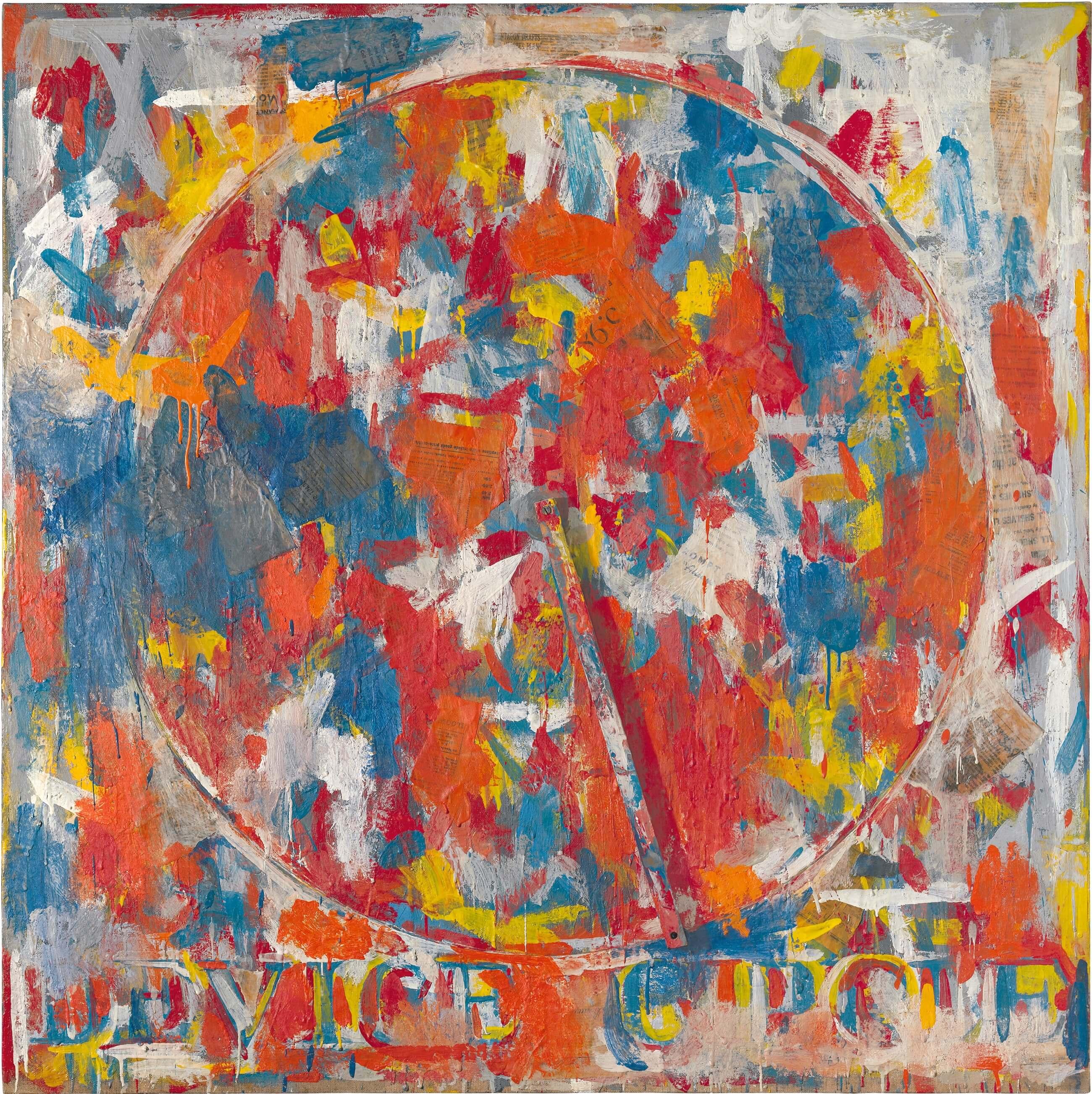 Device Circle, 1959, by Jasper Johns