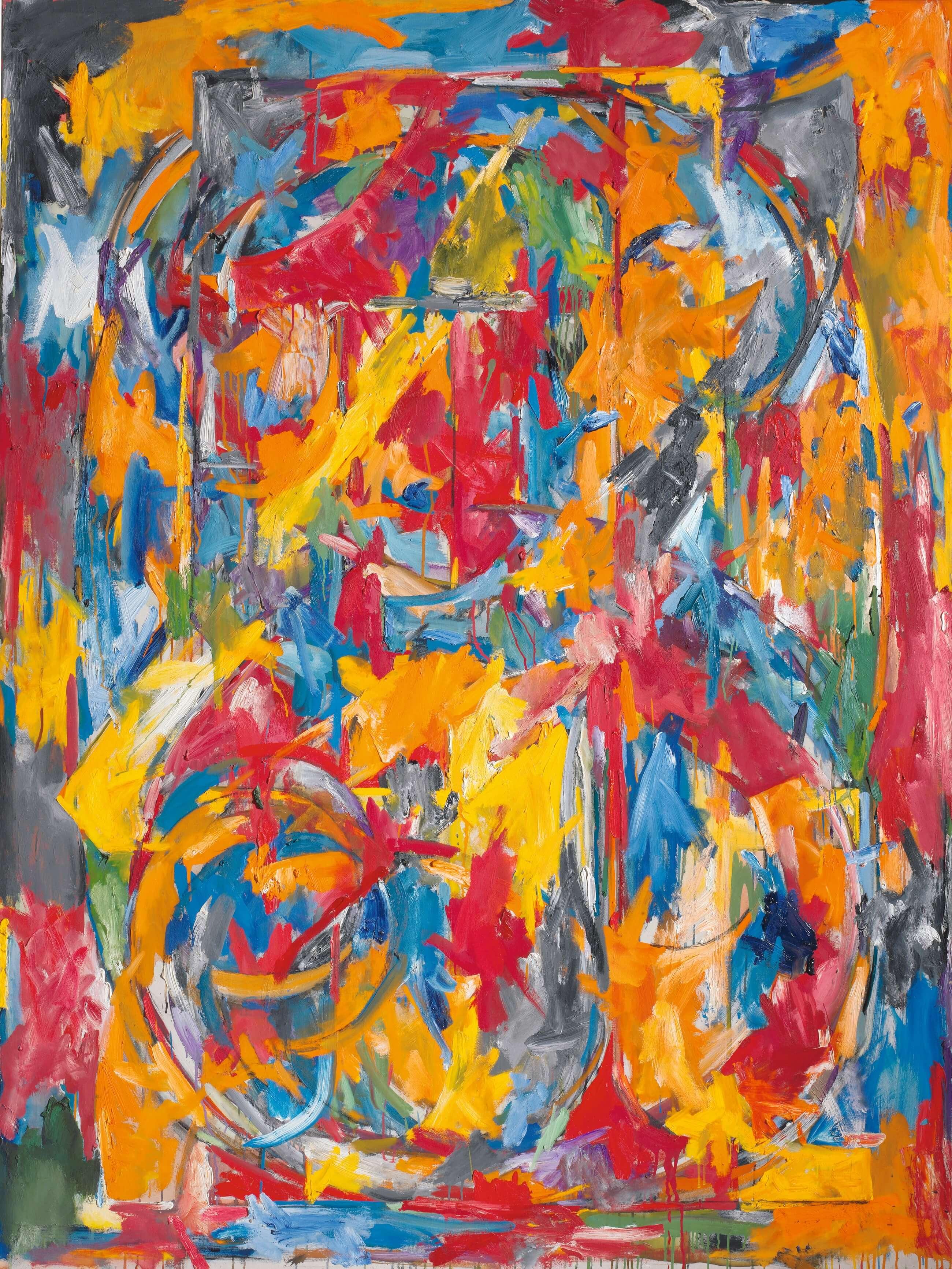 0 through 9, 1960, by Jasper Johns