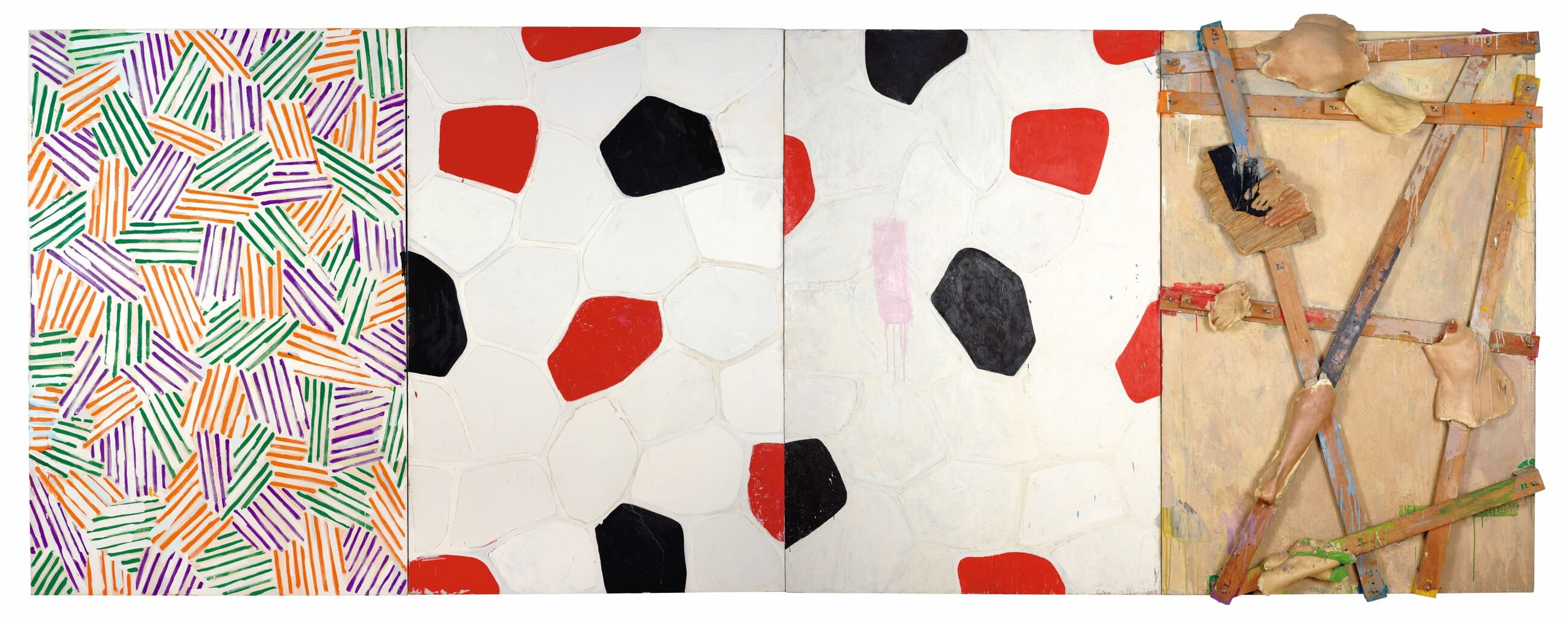 Untitled, 1972, by Jasper Johns