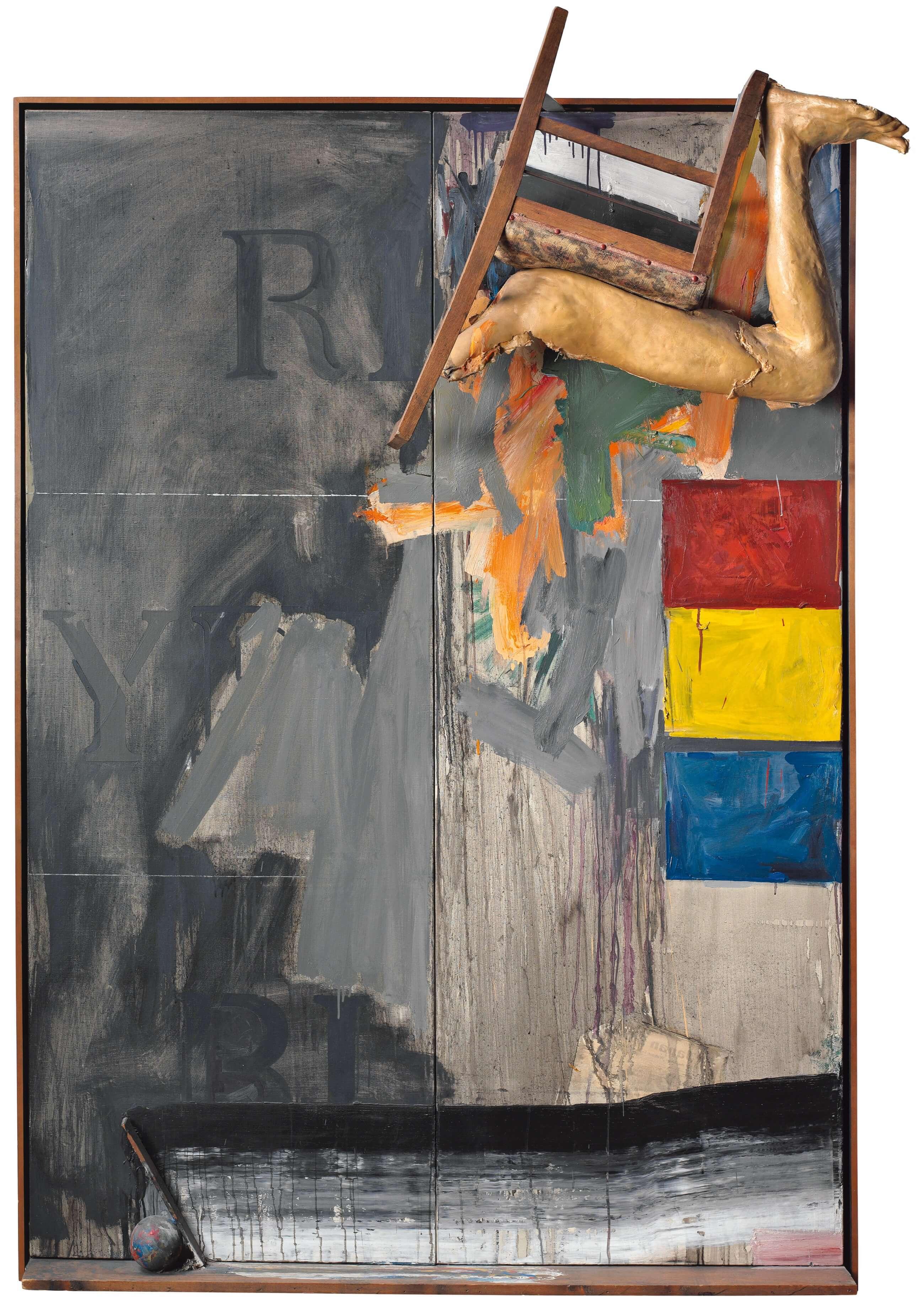 Watchman, 1964, by Jasper Johns