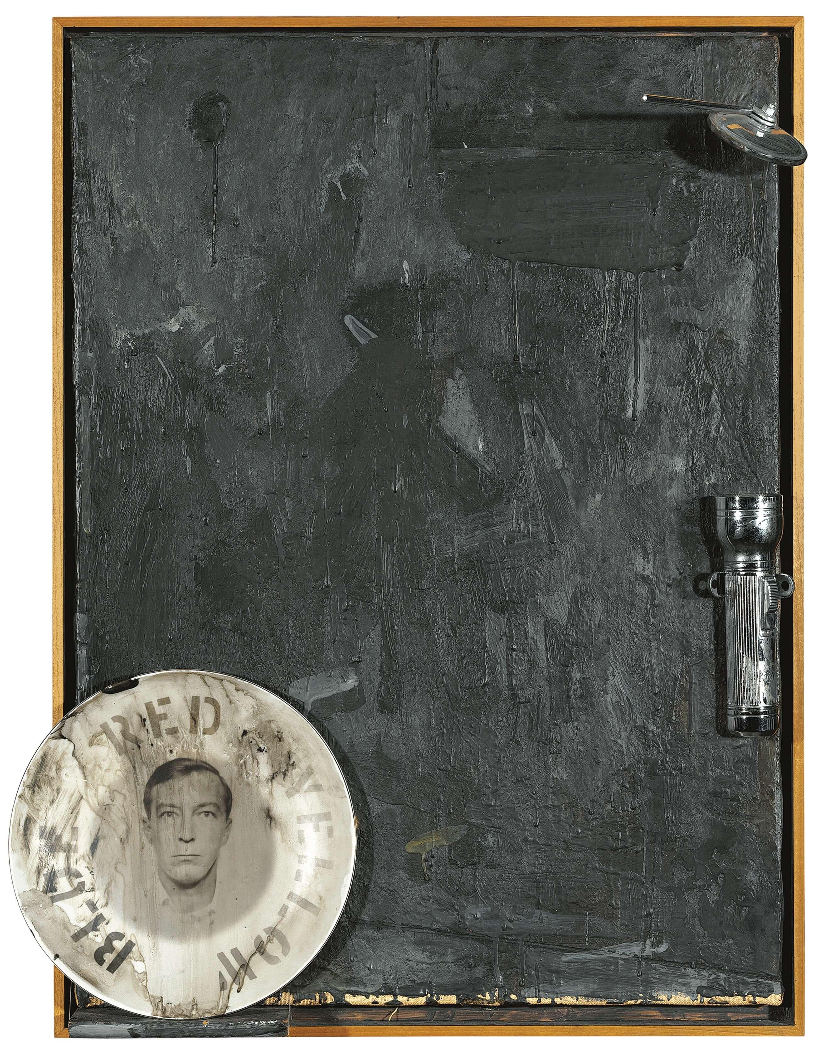 Souvenir, 1964, by Jasper Johns