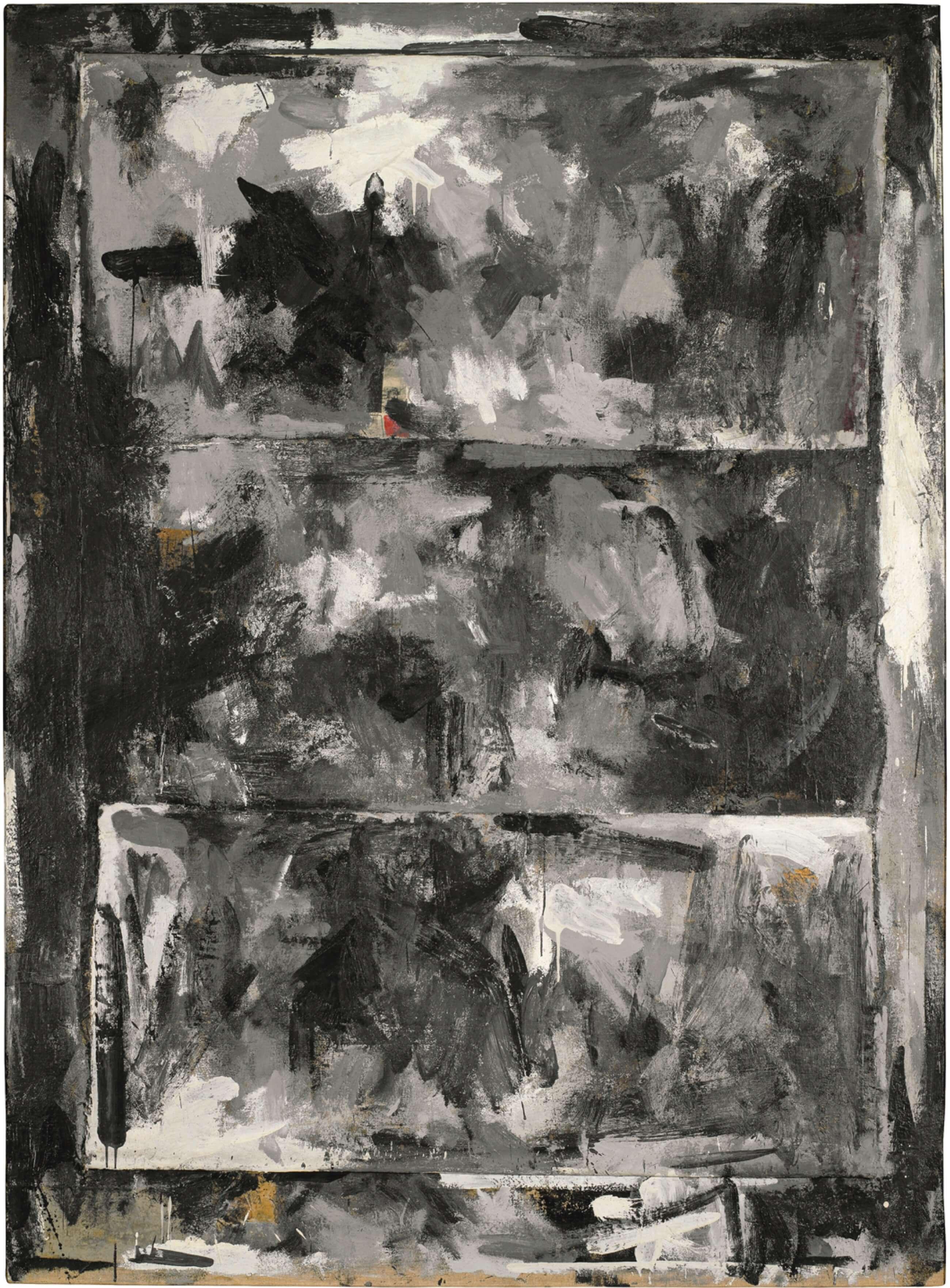 Reconstruction, 1959, by Jasper Johns