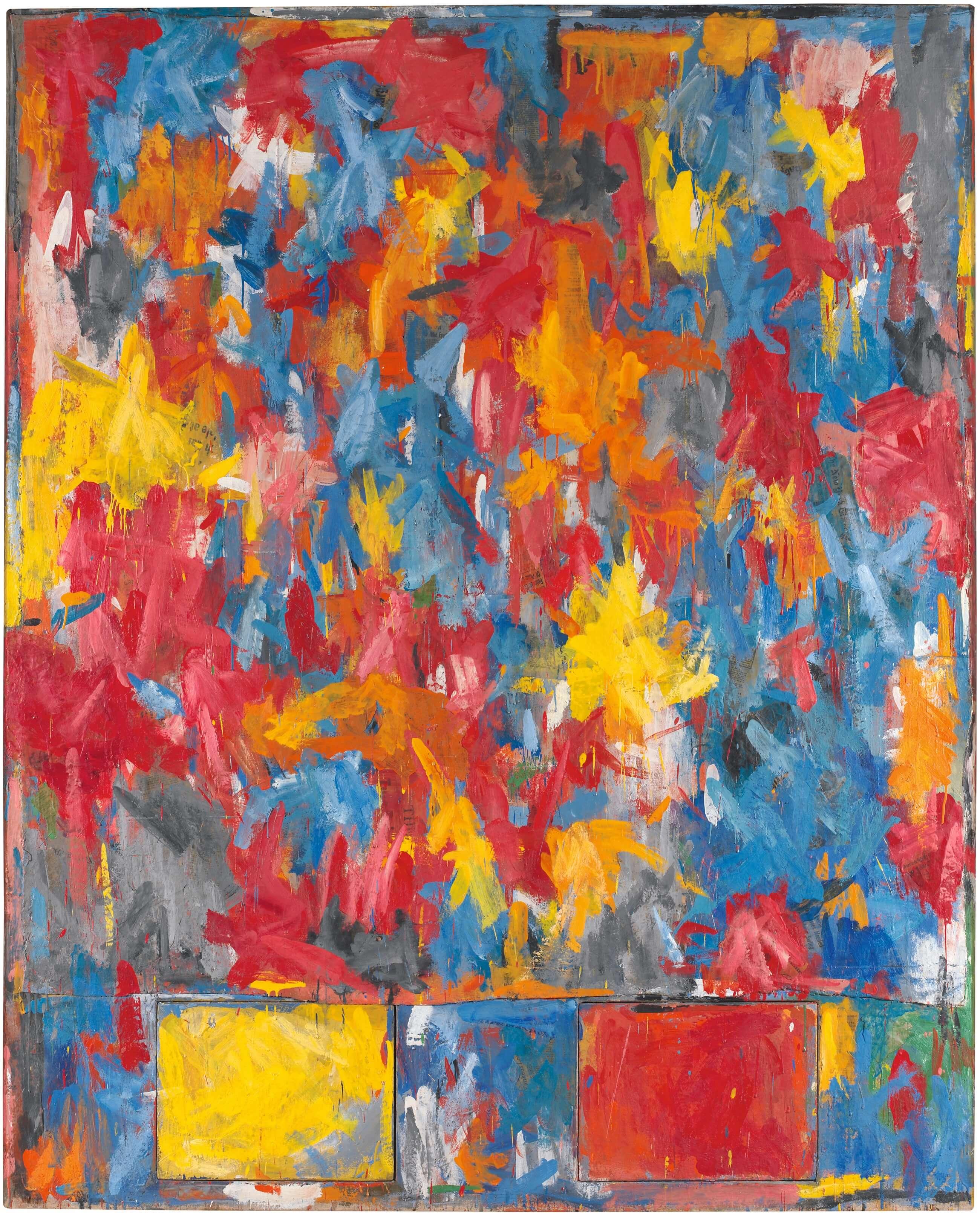 Highway, 1959, by Jasper Johns