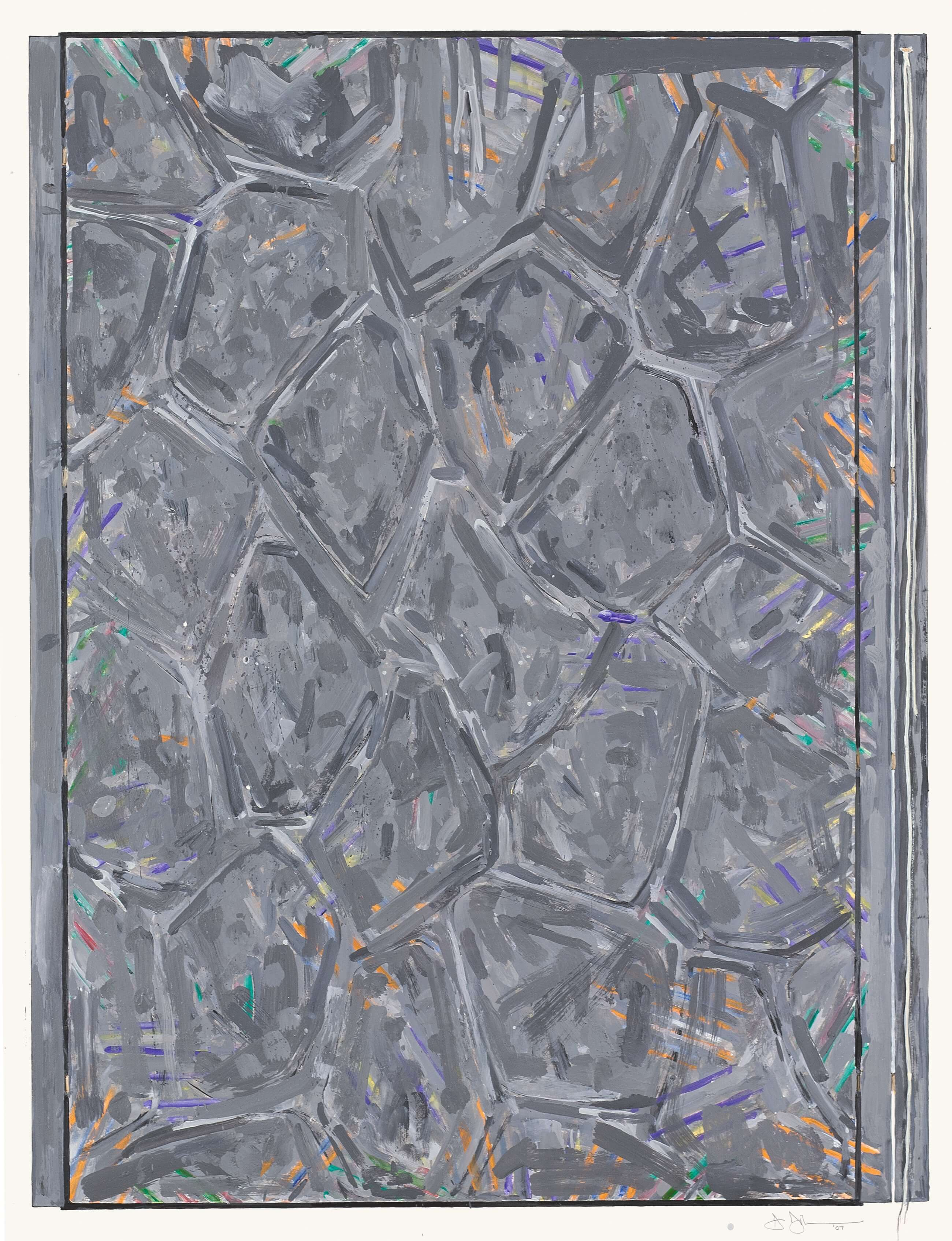 Within, 2007, by Jasper Johns