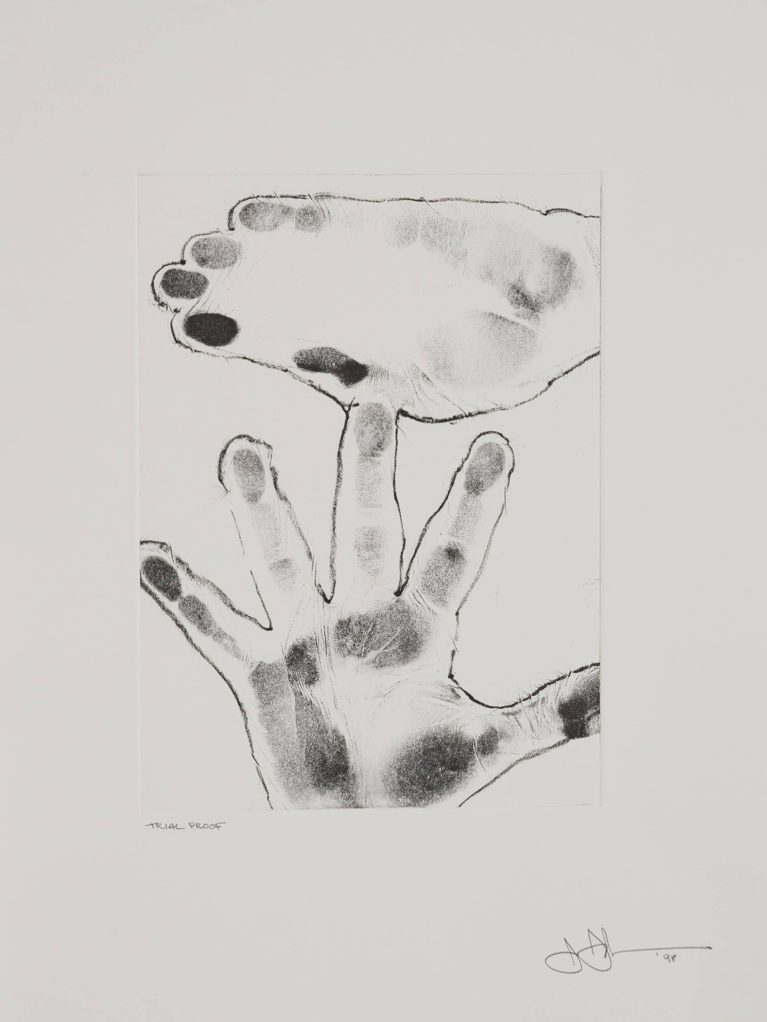 Untitled, 1998, by Jasper Johns